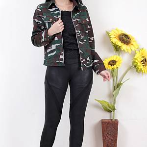 1). sL-Millitary Jacket sleting HIJAU