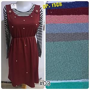 Dress 2pcs (lepas)