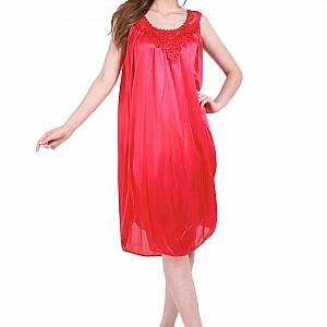 You ve Sleepwear Dress Stacy Girl 168 Red Baju Tid