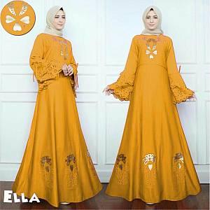 46-Ella maxi mustard