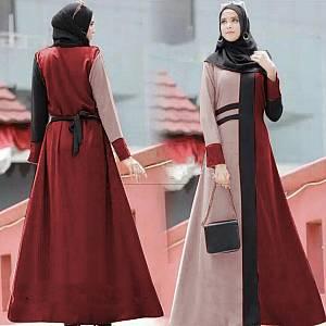 1). 46-Kalina dress Marun
