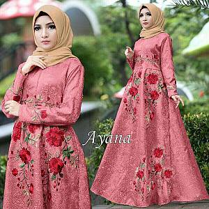 1). 46-Dress Ayana embos dusty