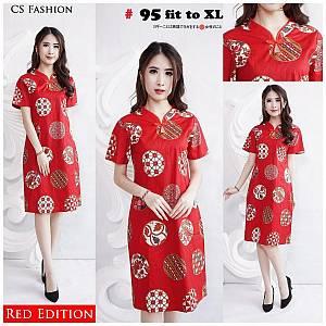 Batik dress 95