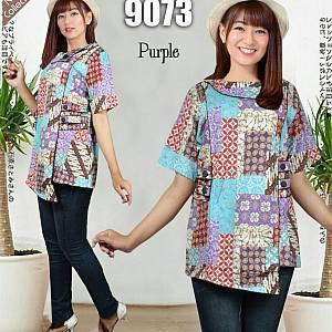 Atasan 9073 purple