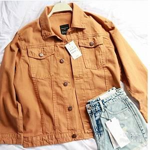 1). Jaker Zara Jeans Mustard