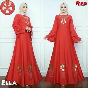 46-Ella maxi red