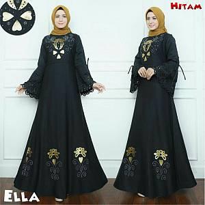 46-Ella maxi hitam
