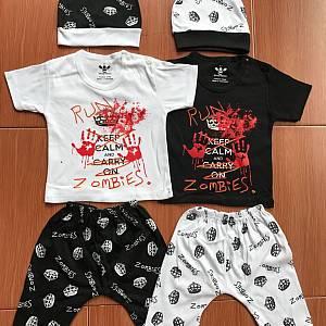 Setelan Baby Set Zombie