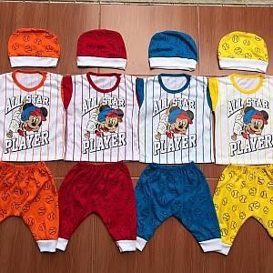 Baby Set Mickey Baseball