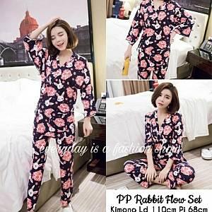 Pm rabbit flow sleepwear
