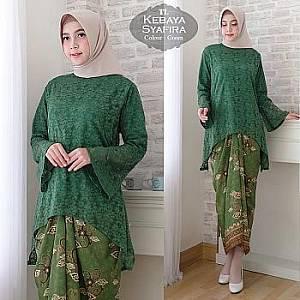1). Tk Kebaya Syafira Green