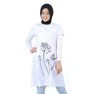 Dress Calista Putih