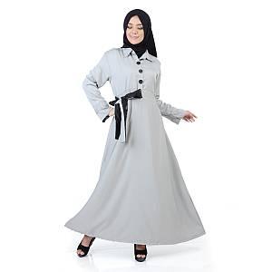 maxi dress elena grey