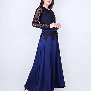 Long dress queen navy