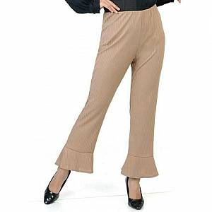 Flare pant mocca