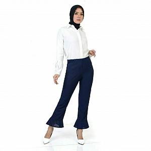 Flare pant navy