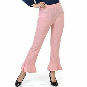 Flare pant pink