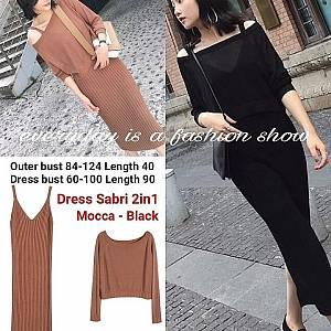 Pm dress sabri dress 2 in 1