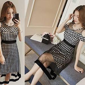 Pm dress square moana