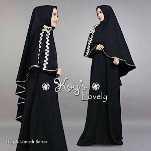 1). FC- LOVELY SYARI BLACK
