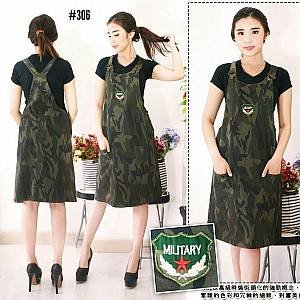 Overall Jeans Army 306