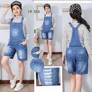 Overall celana jeans SR386