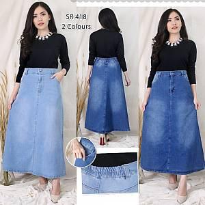 Rok Maxi Jeans SR418