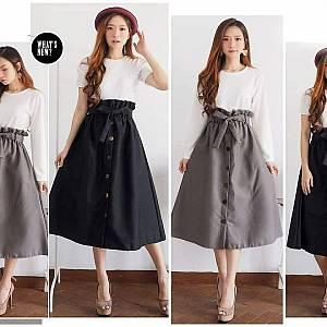 Ll ruffle skirt