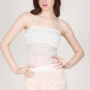 Youve Stacy Lace Tanktop 2820 Putih