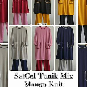 SETCEL TUNIK MIX MANGO