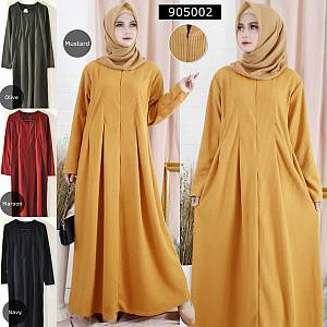 Gamis Rempel Sleting Waffle