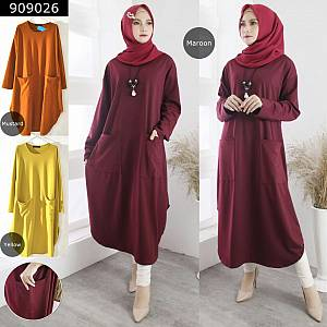 Long tunik oval