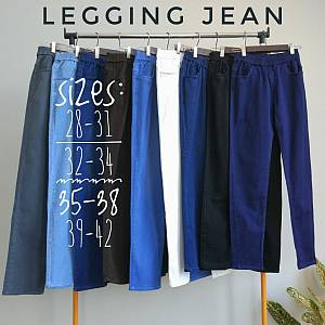 Jegging soft jean