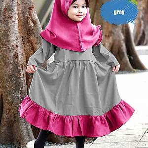1). BA-07 Aqila Kids Grey