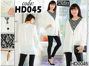 HD0045 BLUS RENDA