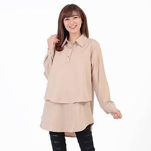 blouse hiraku mocca