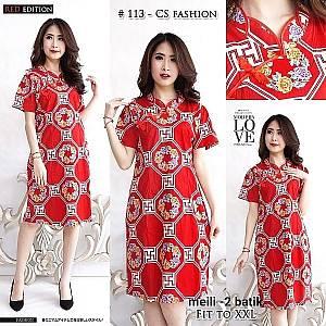 Meili-2 batik dress