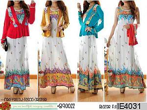 gamis batik  AP 890022