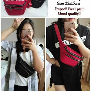 Pm waist bag zipper