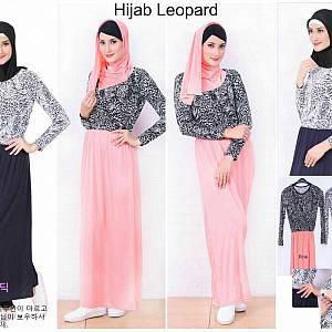 Hijab Set Leopard