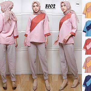 Baju muslim wanita atasan fashion