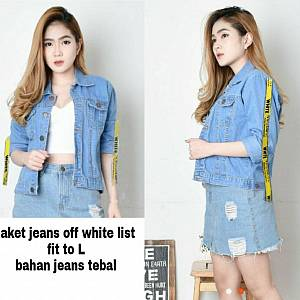 Shn jkt off white
