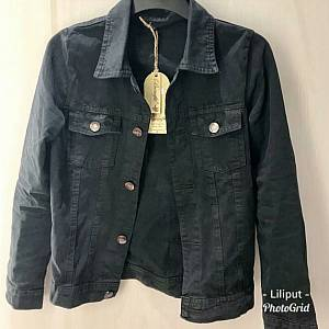 Jaket Jeans Colour Zara Grey grosir