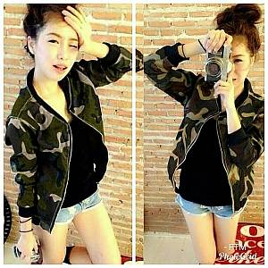 Pm jaket army