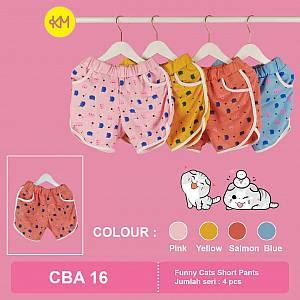 CBA16 Funny Cats Short Pants