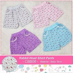CBB 06 RABBIT HEAD SHORT PANTS