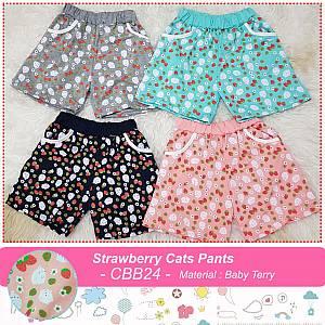 CBB24 Strawberry Cats Pants