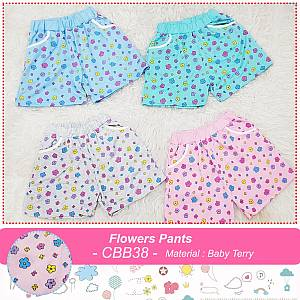 CBB38 FLOWER PANTS