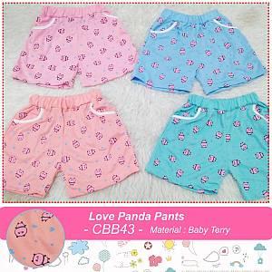 CBB 43 LOVE PANDA PANTS