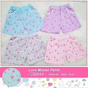 CBB44 Love Mouse Pants